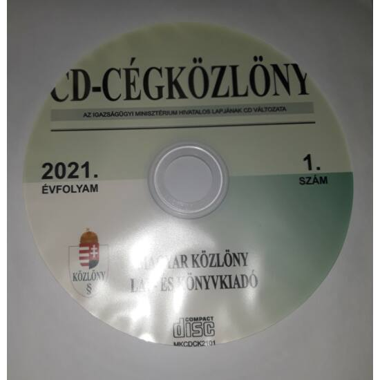 CD-Cégközlöny 2021.