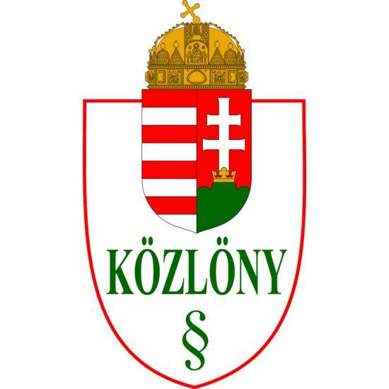 Magyar Közlöny 2019/213.