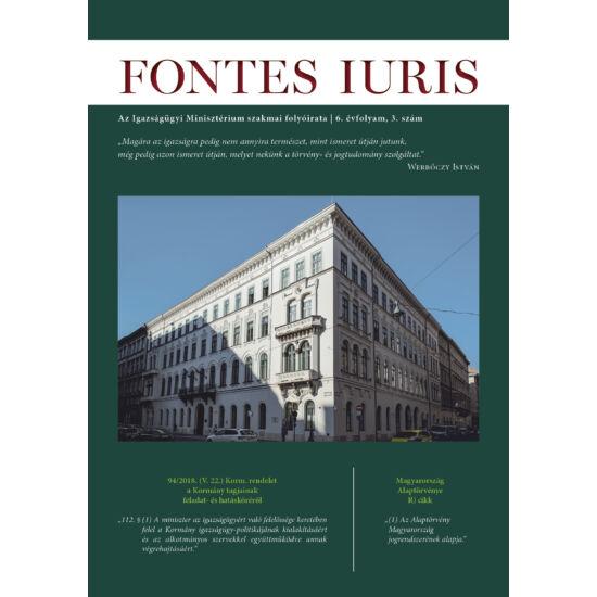 Fontes Iuris 2020/3.