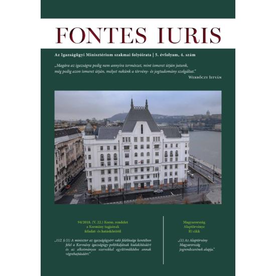 Fontes Iuris 2019/4.