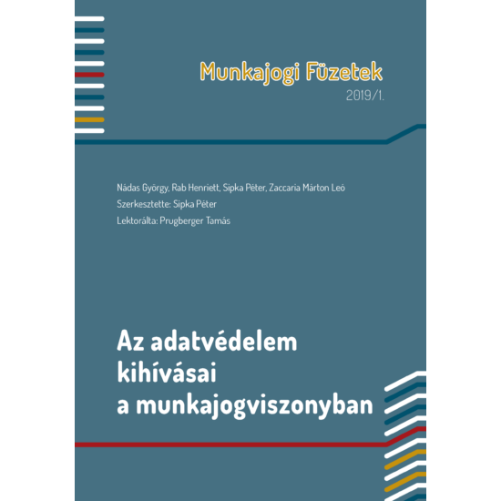 Munkajogi Füzetek 2019/1.