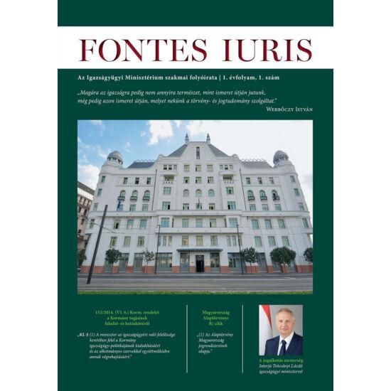Fontes Iuris 2015/1.