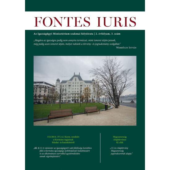 Fontes Iuris 2016/3.