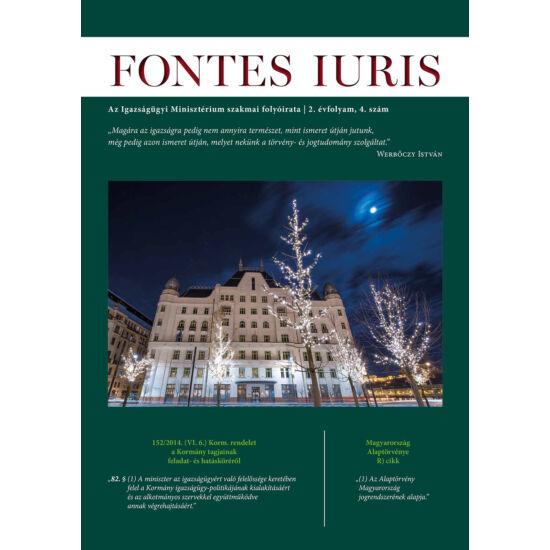 Fontes Iuris 2016/4.