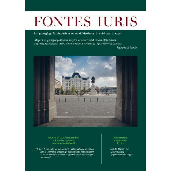 Fontes Iuris 2019/3.